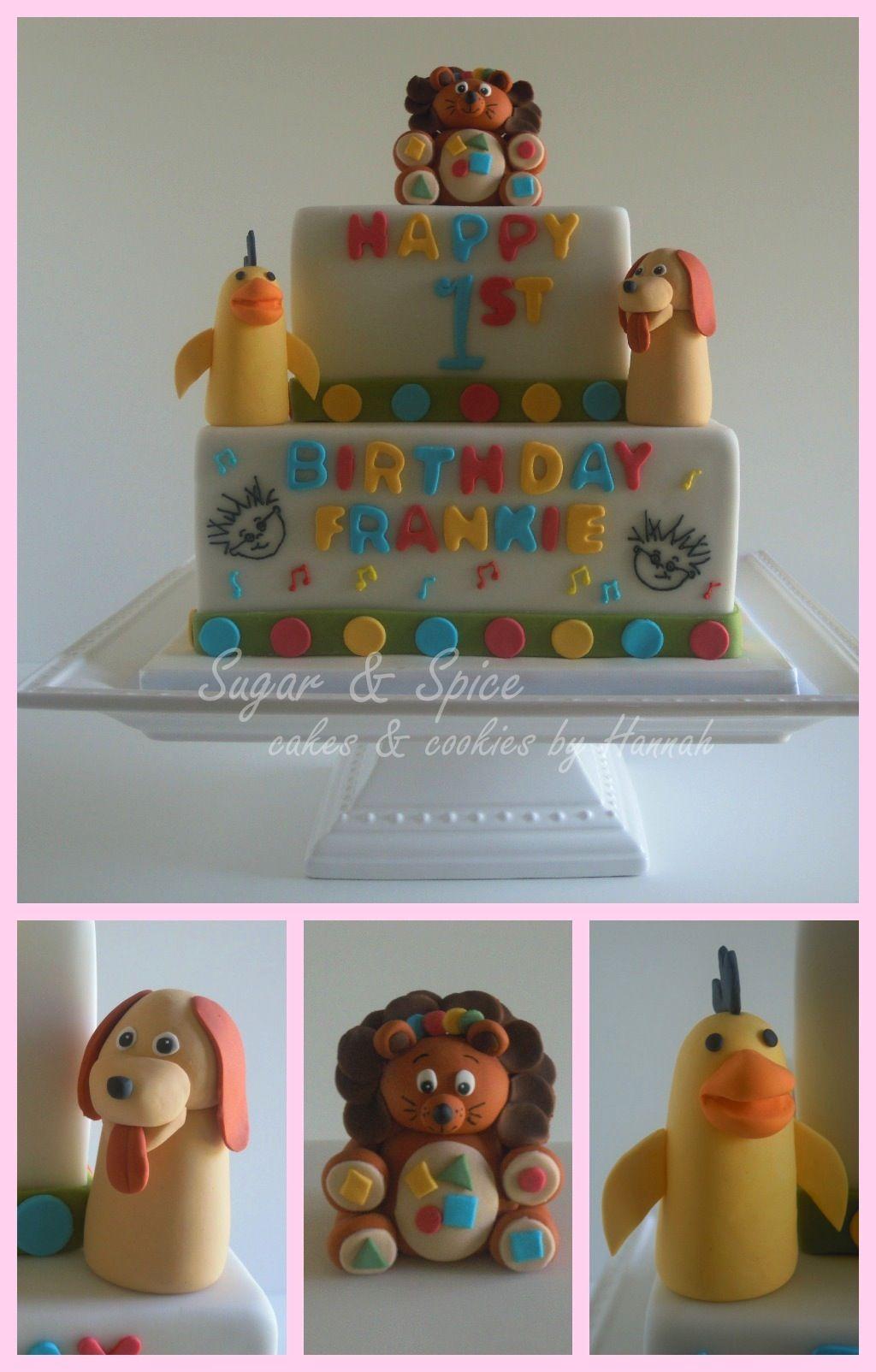 Baby Einstein First Birthday Cake