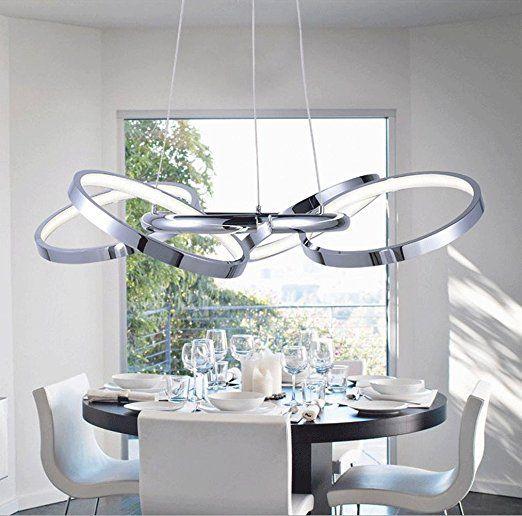 RISHENG 22W LED Moderne Kreative Persönlichkeit Einfach Acryl Anhänger  Lampe Schlafzimmer Wohnzimmer Esszimmer Büro Lampe 59