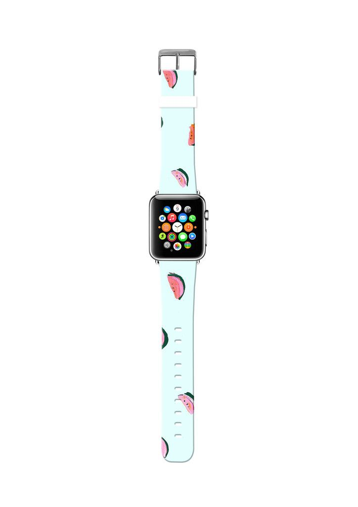 Watermelon Light Blue cr32 Cute apple watch bands