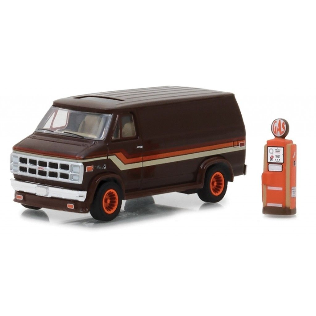 1978 Gmc Vandura Custom With Gas Pump 1 64 Scale Diecast Model By