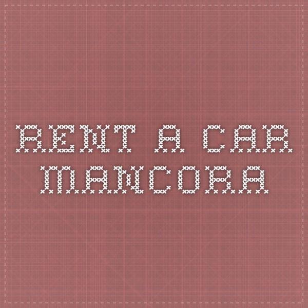 Rent a car Mancora