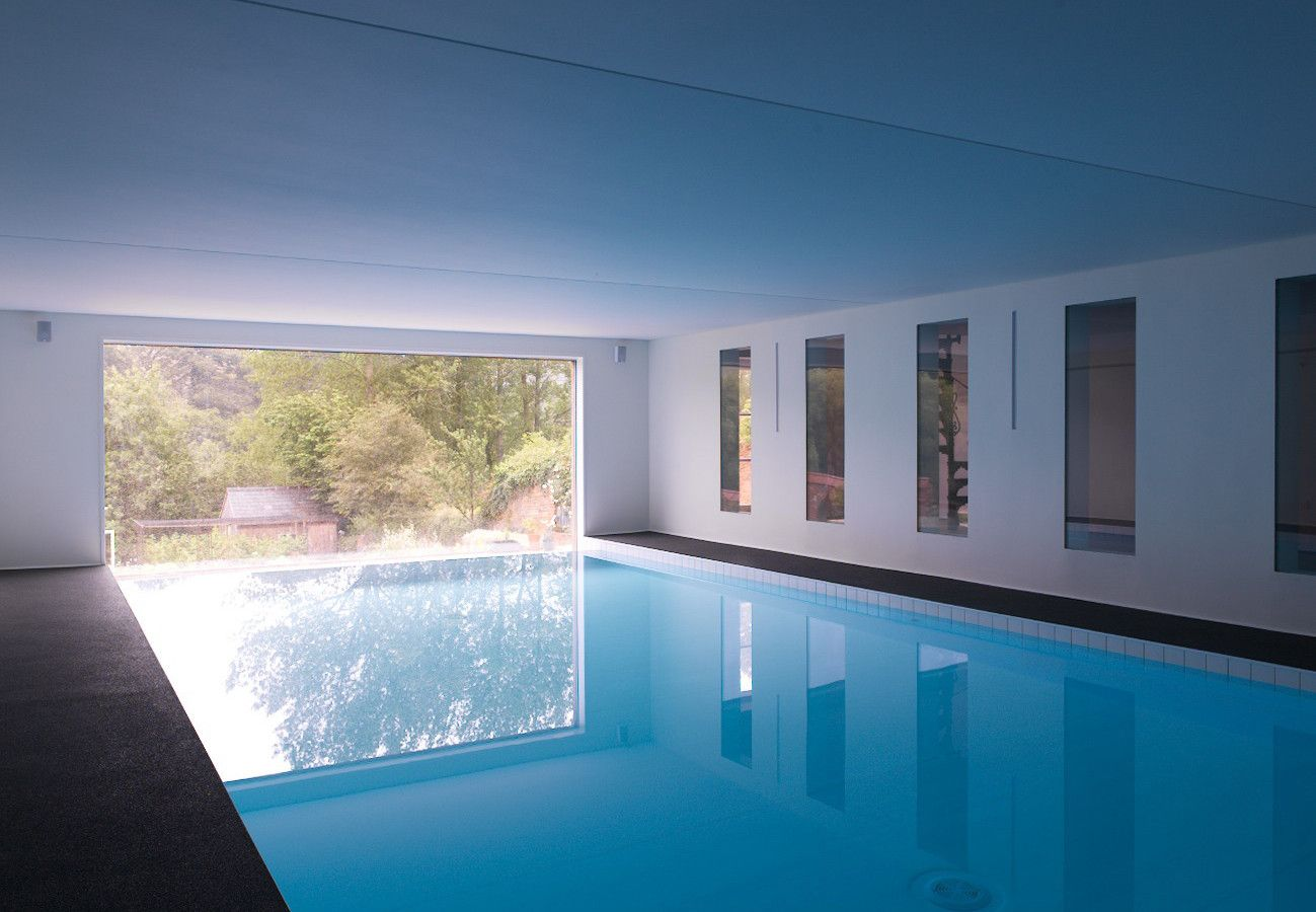 wonderful indoor swimming pool mangerton house dorset - Big Houses With Pools Inside The House