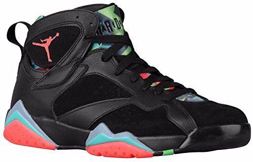 Collection Here Basketball Shoes - Mens Jordan Retro 7 Black/Blue Graphite/Retro/Infrared 23