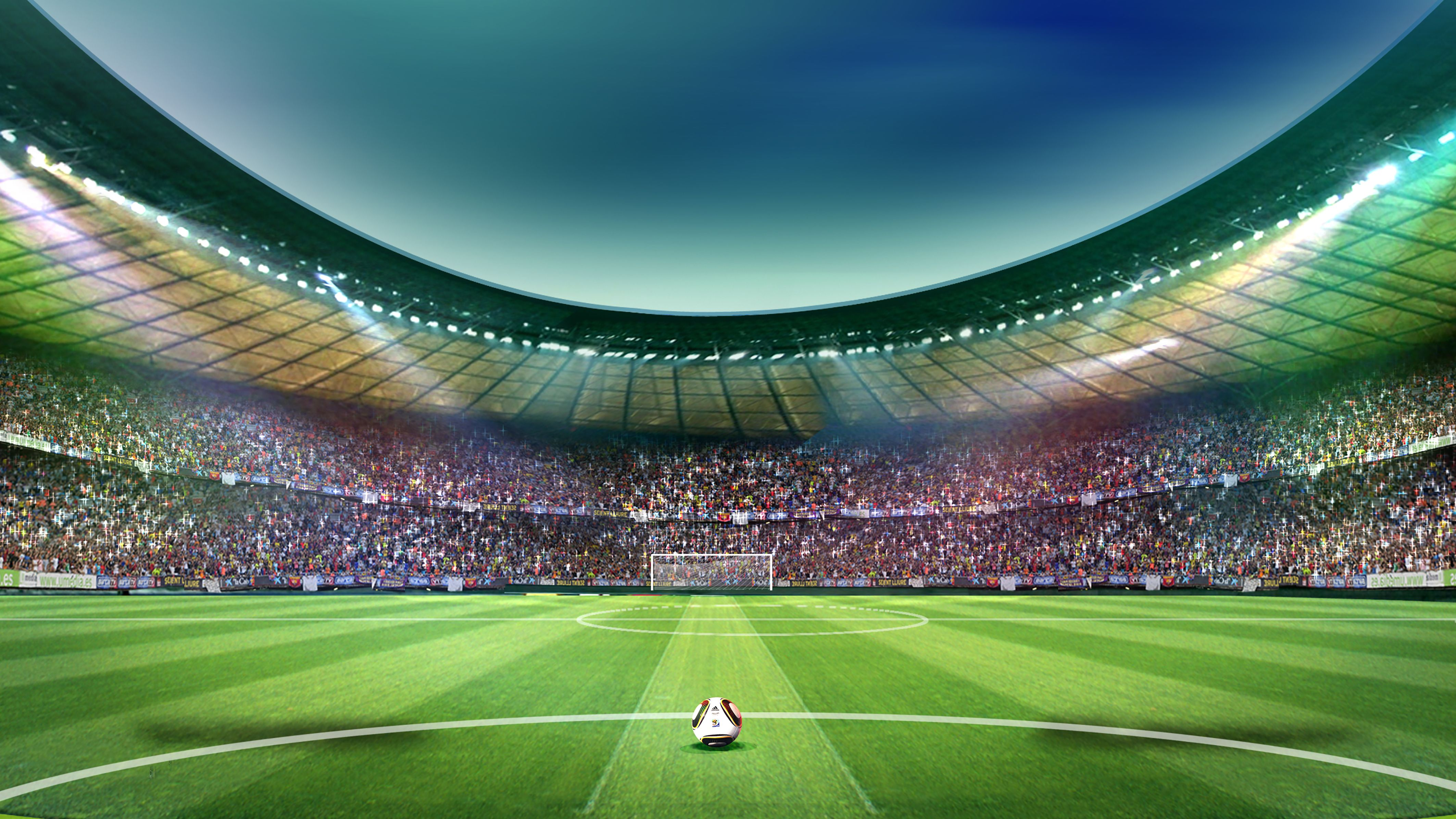 Football Playground Meadow Stand Field Sport Competition Flag Player Ball Championship Crowd Event Athlete Stadium Football Stadiums Soccer Field Soccer Poster