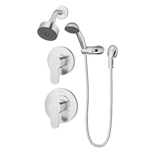 Identity Shower Faucet Trim Kit With Metal Lever Handle Shower Faucet Tub And Shower Faucets Shower Tub