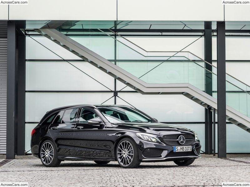 Mercedes-Benz C450 AMG 4Matic Estate (2016)   Mercedes benz, Benz ...