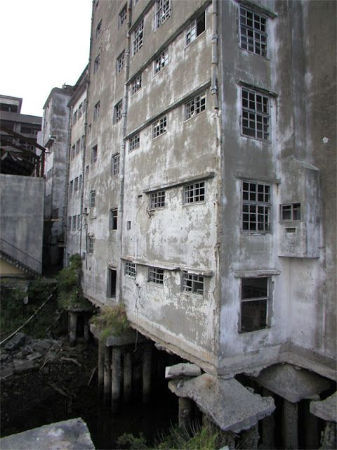 Fantastisch Another Photo From The Ghost Island Of Hashima, Nagasaki Prefecture, Japan
