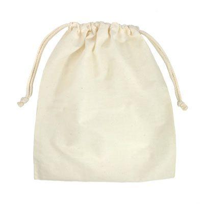 "74ebb28196d2 10"" x 12"" Cotton Drawstring Bags - 12 Pack | Superb Supplies ..."