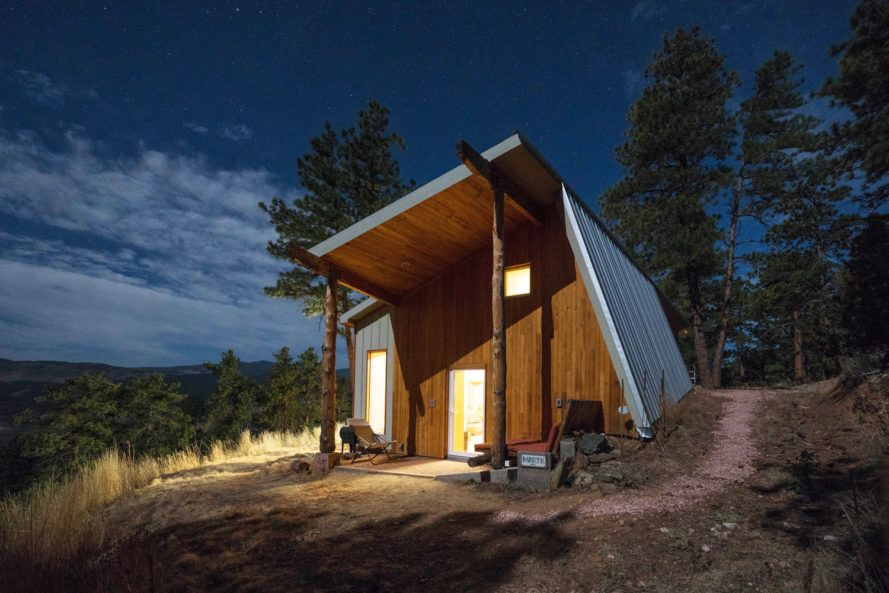 marvelous energy efficient cabin #3: Colorado man builds stateu0027s most energy efficient house