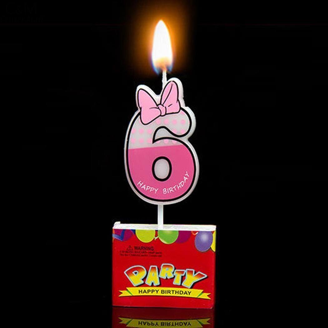 Kerze Maus Anzahl Cartoon Kerzen Kuchen Geburtstag Dekoration Als