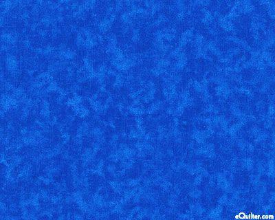 Alien Nerdlet Quilt for Carol - Vibrant Blender in Royal Blue