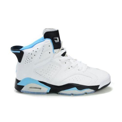 Air Jordan 6 (VI) Olympics White Black Sky Blue