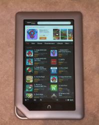 Nook Tablet Now Runs Kindle Aldiko More No Hack Required
