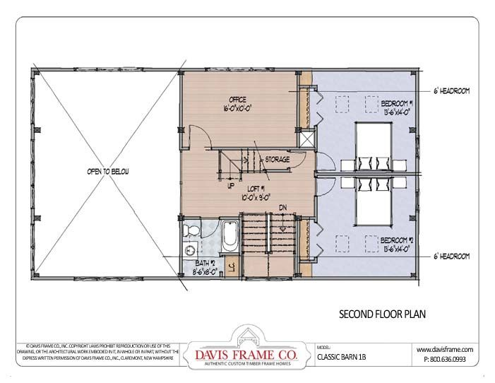 Timber-Frame-Barn-1B-Plan-2 | Barn