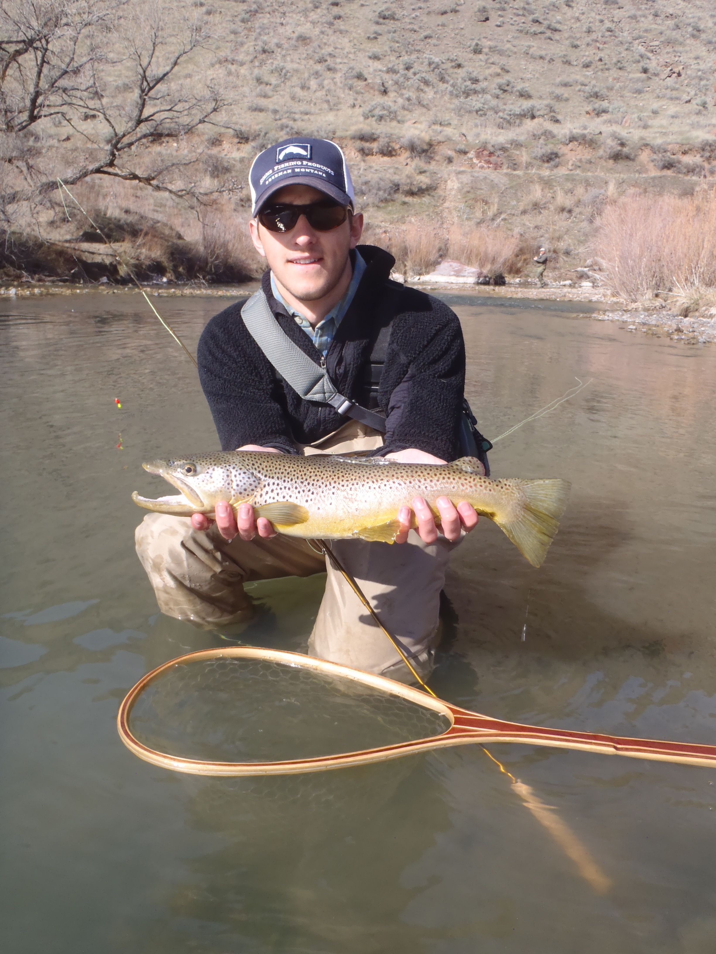 Winter Fishing On The Owyhee River Winter Fishing Fish Activities