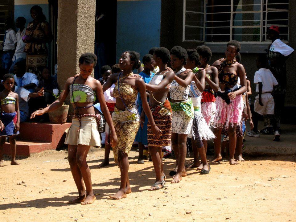 Zambian Schoolgirls Dance Zambia Africa Day Sumo Africa