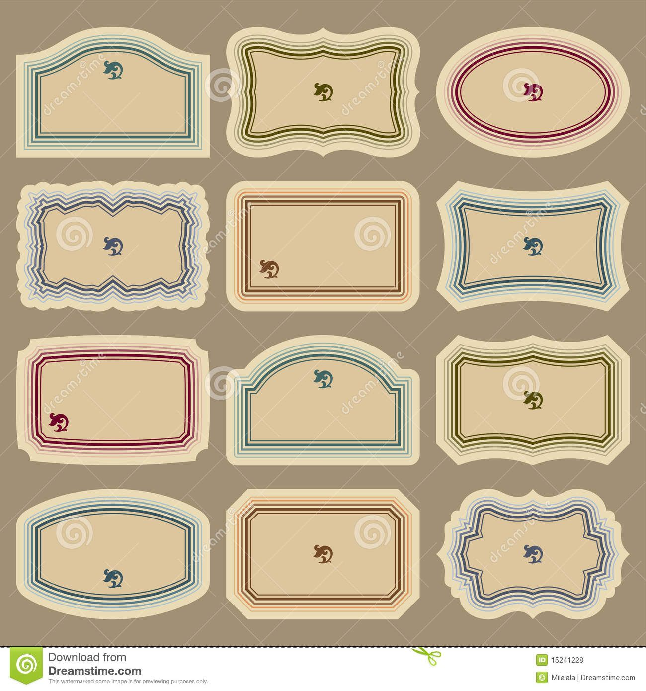 images free printable blank labels vintage label templates | sewing