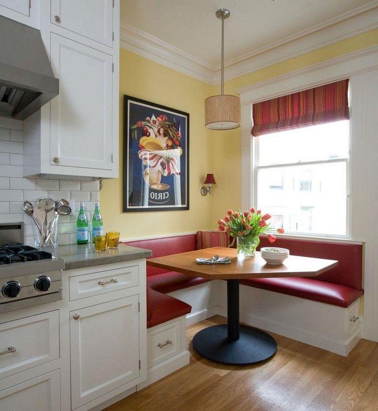 30 Good Breakfast Nook Design Ideas Booth Seating In Kitchen