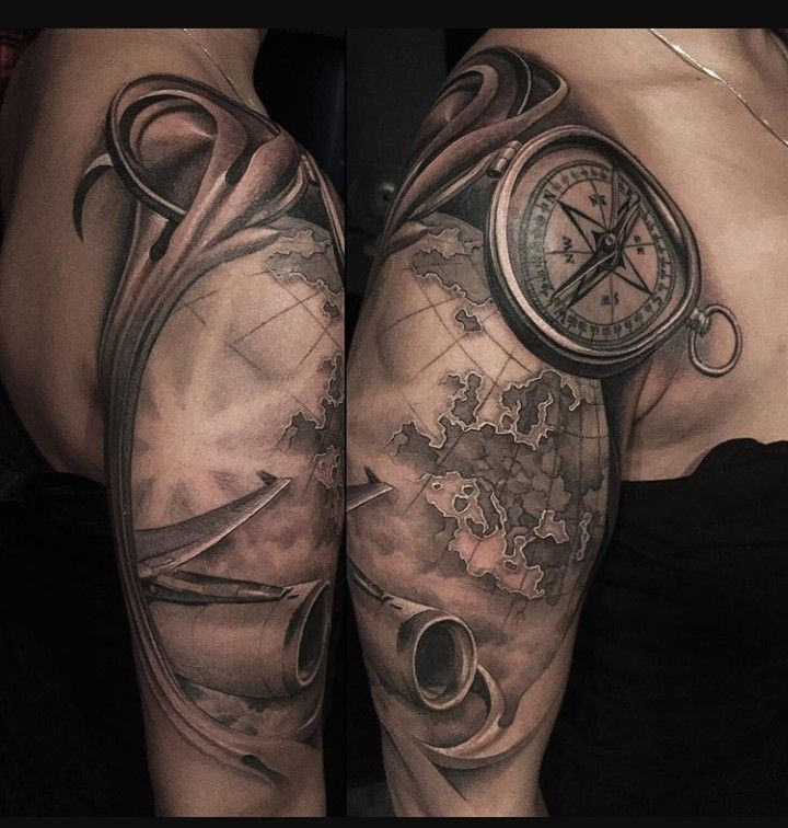 Tattoo Quotes Travel: Pin By Jordan Hassan On Tatted