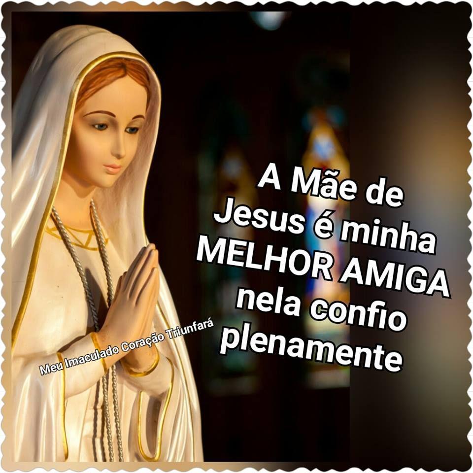 Meu Imaculado Coracao Triunfara Imaculada Virgem Maria Mae De