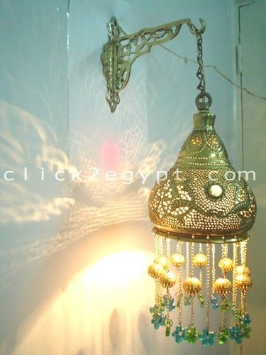 B124 Oriental Wall Mount Pendant Brass Lampshade With Decorative Bracket Decorative Brackets Brass Lampshade Wall Mount