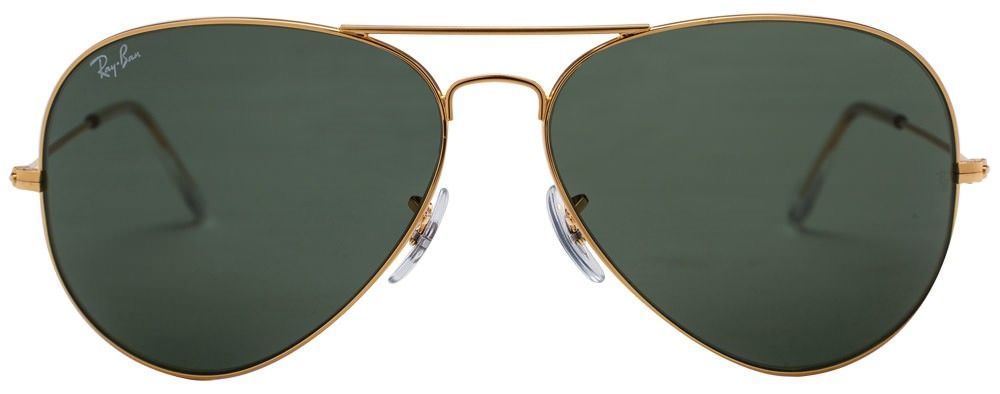f4e1f439f2 Ray-Ban RB3026 X-Large (Size-62) Golden Green Unisex w2027 ...