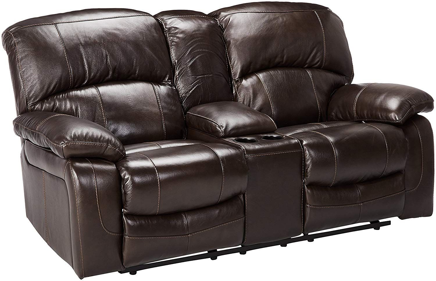 Ashley Furniture Signature Design Damacio Recliner Loveseat With