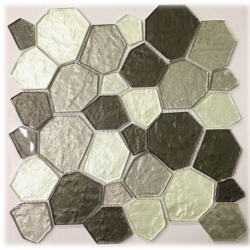Upscale Designs 12 X 12 Glass Peel Stick Mosaic Tile Mosaic Glass Instant Mosaic Glass Mosaic Tiles