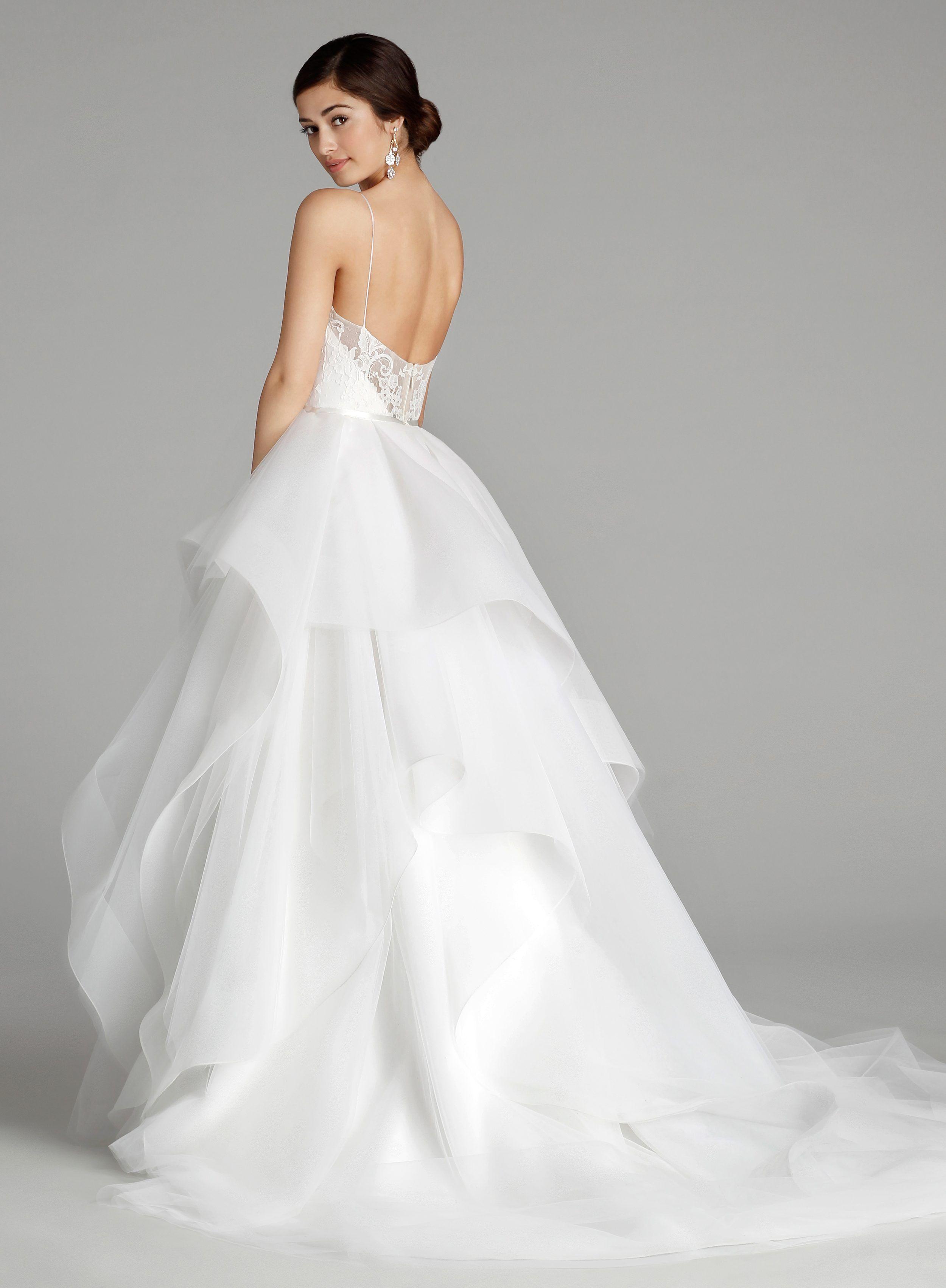 Organza and Chiffon Wedding Dress