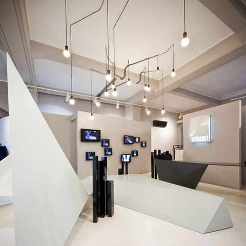 Squareone Projected The Interior For A Shop In Bucharest Named