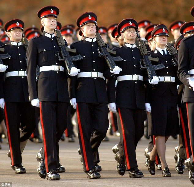 Prince Harry Second From Left Is Currently In A Staff Officer Role At The Horse Guards Parade In Londo Horse Guards Parade Prince Harry Royal Family England