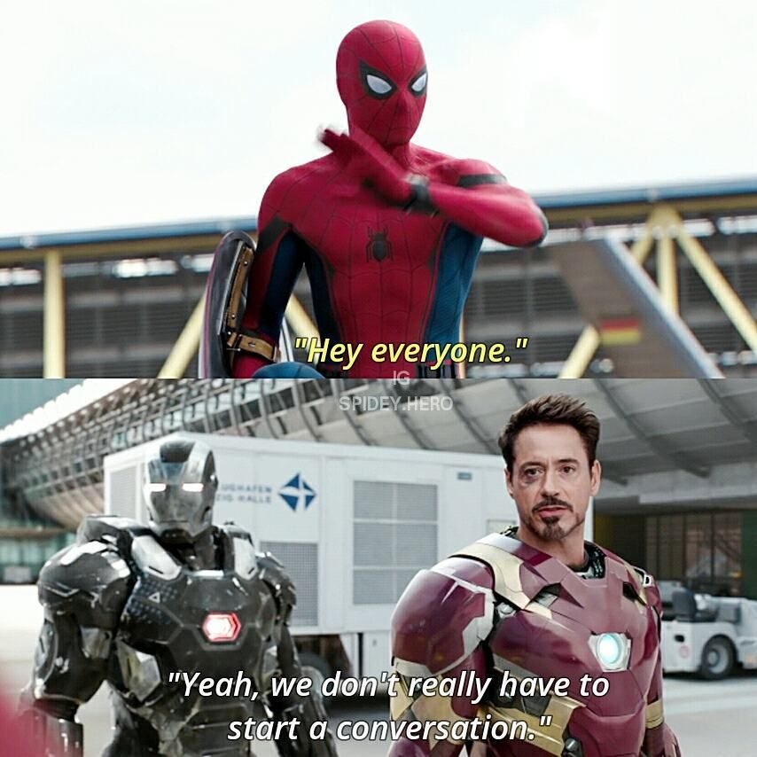 """(@spidey.hero) på Instagram: """"If you're team Cap, well you're my enemy for now... come on fighting! #spiderman #civilwar…"""""""