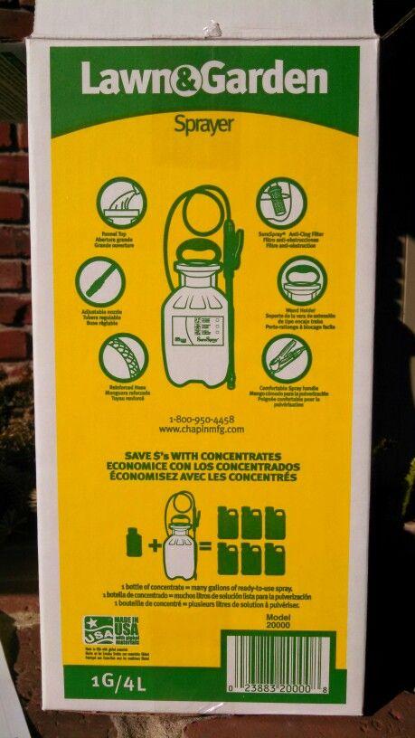 Best 1 gallon sprayer | Sprayers, Lawn & garden sprayer ...
