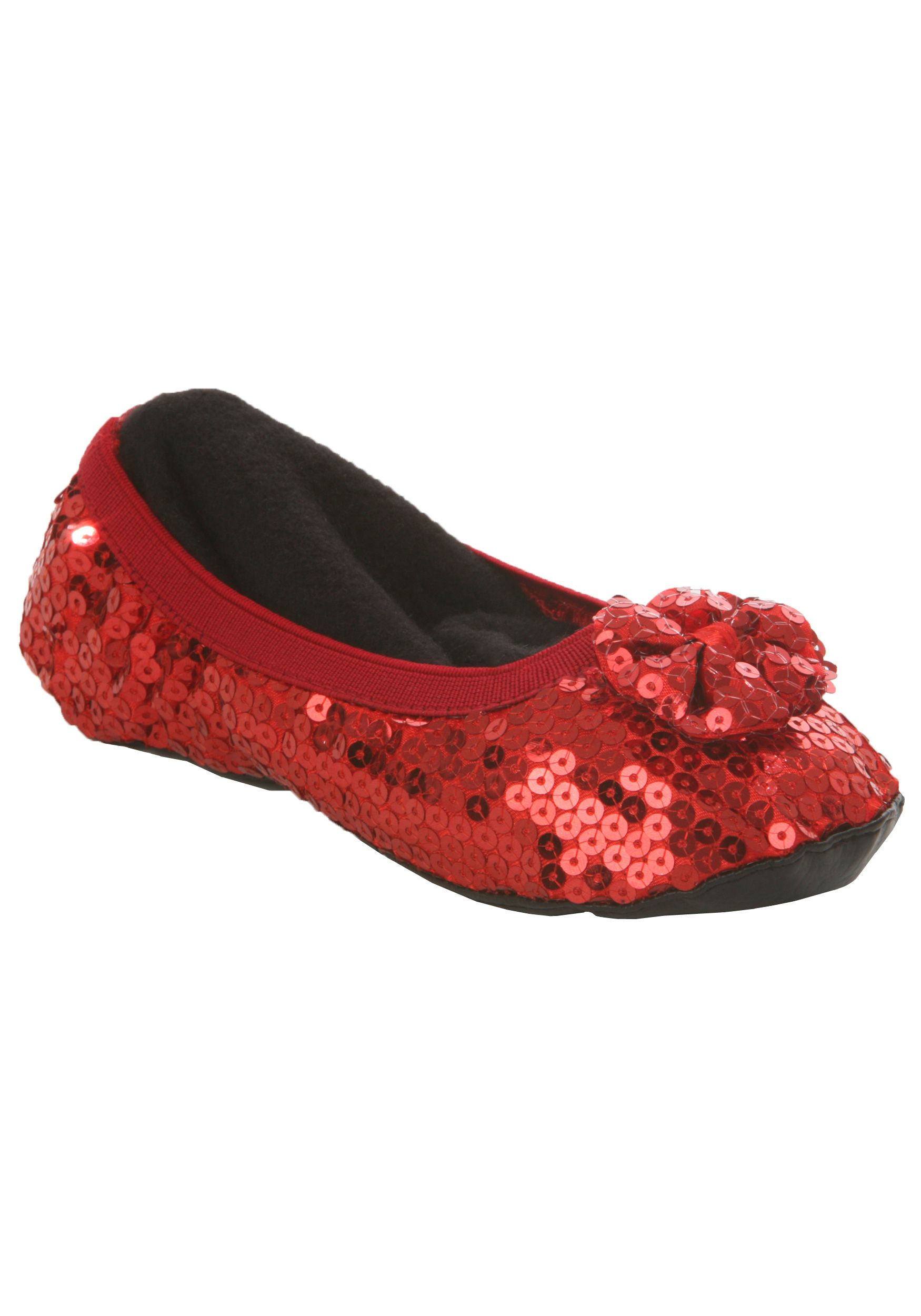 Child Ruby Slippers Kids Dorothy Ruby Red Shoes Slippers For Girls Red Slippers Ruby Red Slippers