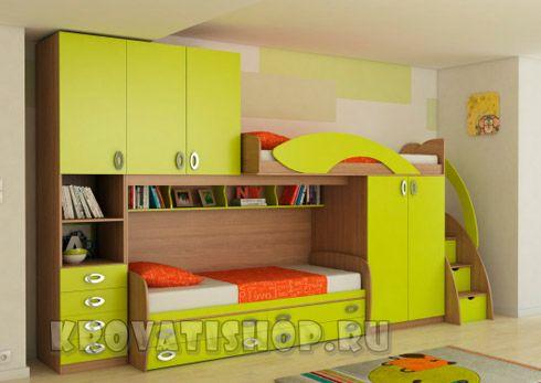 двухъярусные кровати для детей кровати чердаки мебель для детской
