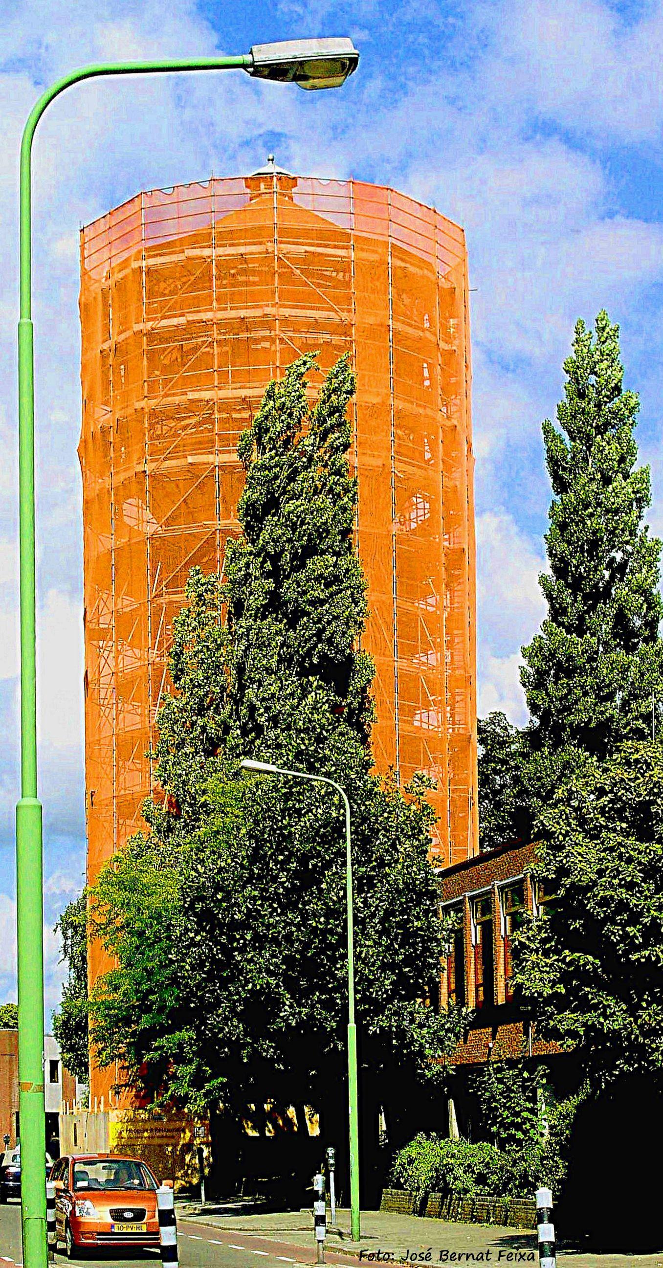 Restauratie Watertoren in 2005, Zeist