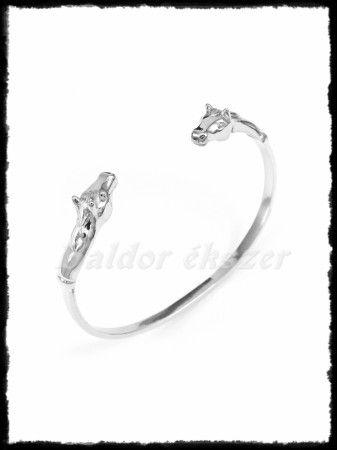szuper aranyos online kiskereskedő legjobban szeretett Ezüst lovas karperec - Baldor lovasékszer - Equestrian jewelry ...