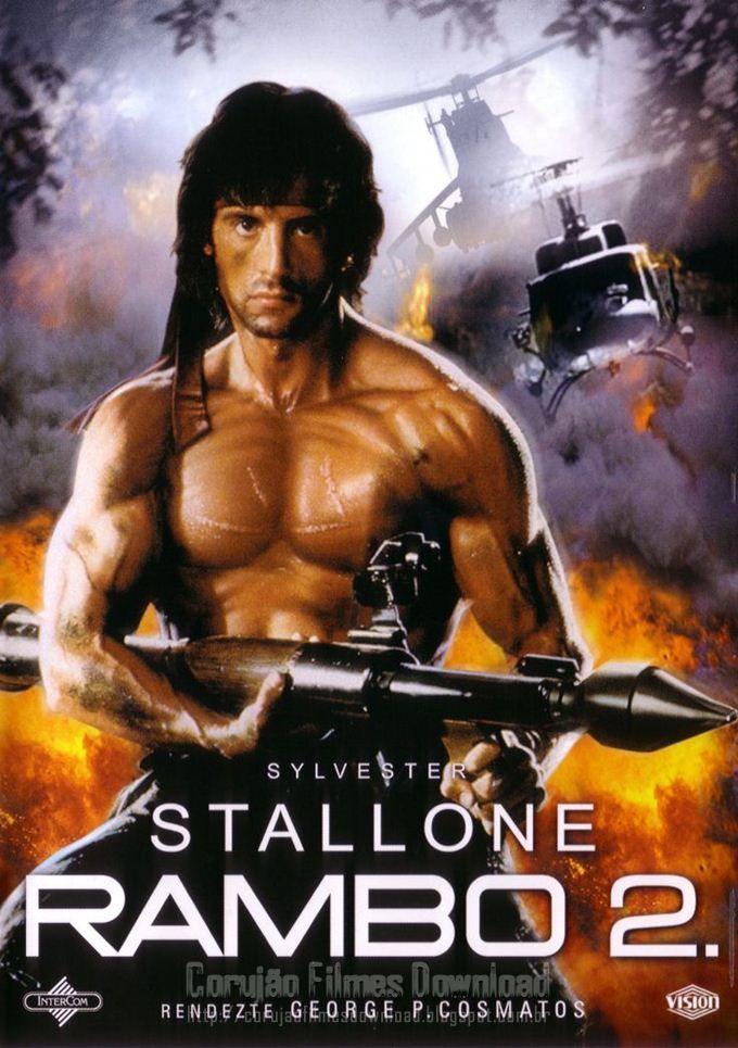 Rambo Ii A Missao Cartazes De Filmes Classicos Rambo