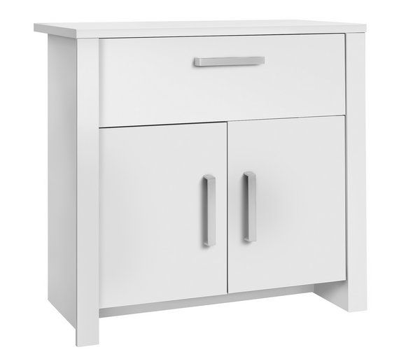 White Sideboards For Living Room Country Style Ideas Rooms Buy Home Bailey 2 Door 1 Drawer Small Sideboard At Argos Co