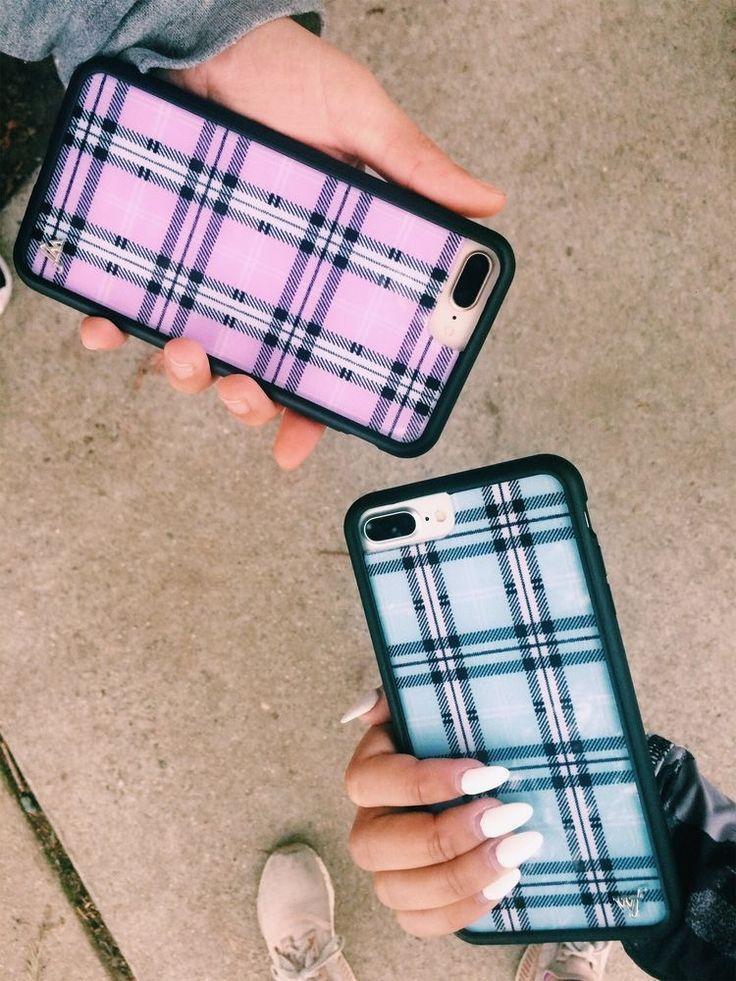 Plaid Wildflower iPhone Hüllen – • Ich liebe es • – # Hüllen #iPhone #Lieb… – Phonecases