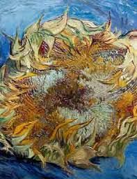 Image result for close up of van gogh painting