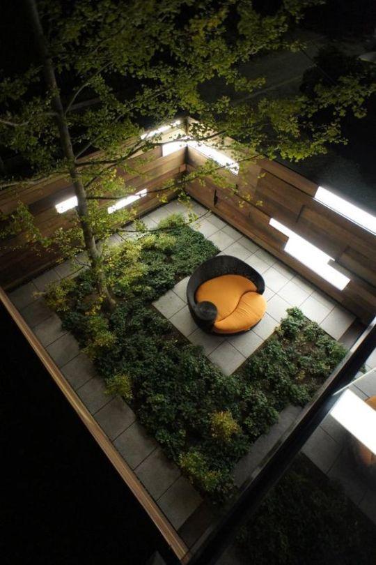 Cafe Inevitable Urbano Pinterest Diseño de terraza, Azotea y - diseo de jardines urbanos