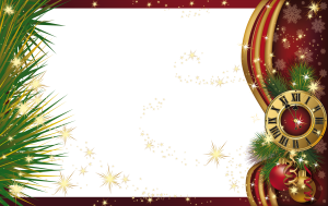 Beautiful PNG Christmas Photo Frame – Sognando i Sogni…