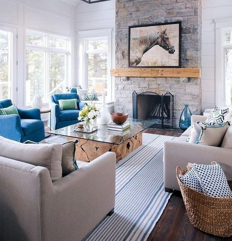 45 stunning and comfortable living room design ideas