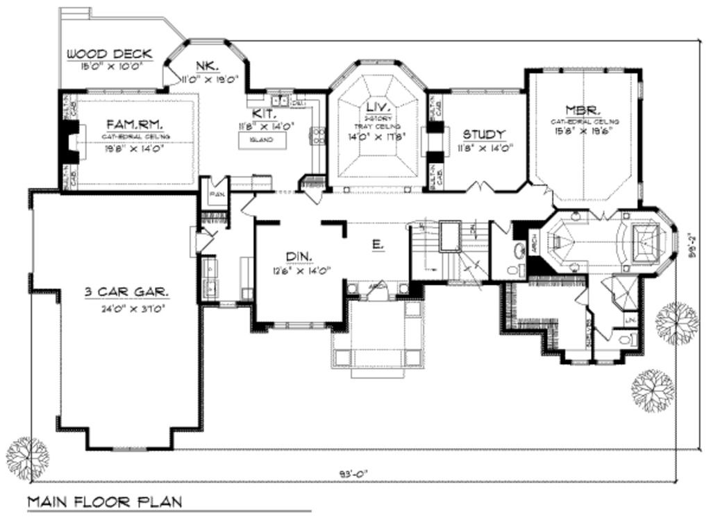 Main Floor House plans, Luxury house plans, How to plan