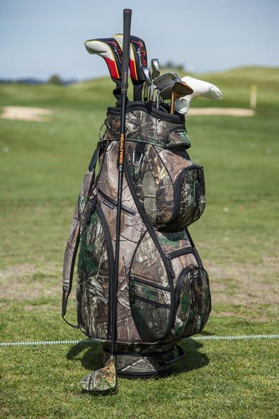 Realtree Camouflage Cart Bag By Pinemeadow Golf