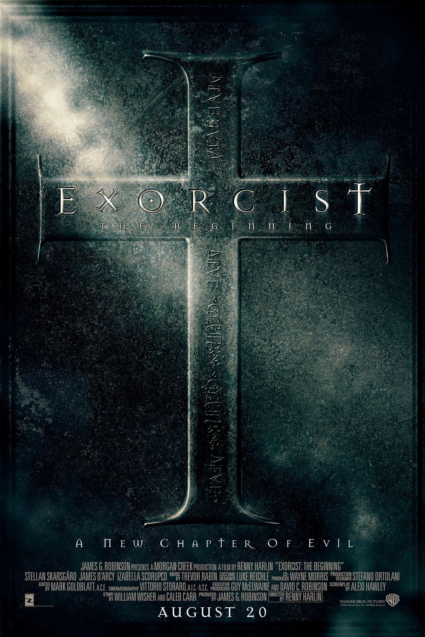 El Exorcista El Comienzo 2004 The Stranger Movie The Beginning Movie Scary Movies