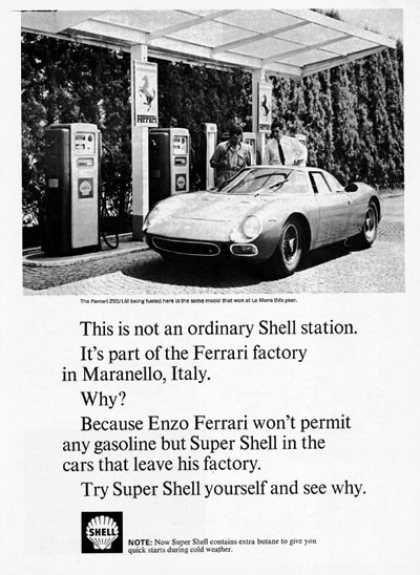 Ferrari 250lm Shell 1966 Sport Automobile Voitures Rapides