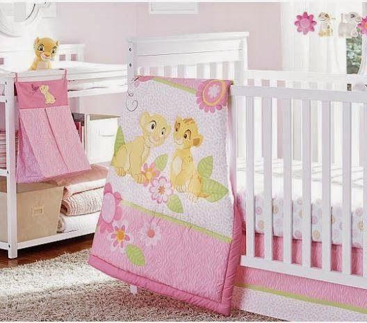 Lion King Baby Nursery Decor And Crib, Baby Crib Bedding Set Lion King