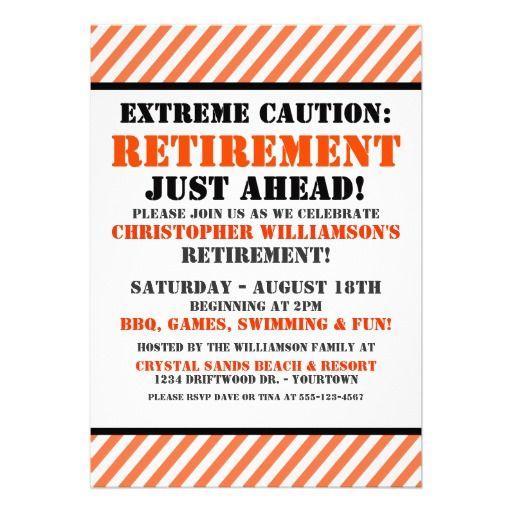 Retirement Party Invitation Retirement parties, Retirement and - retirement party flyer template